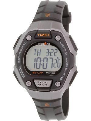 Timex Men's Ironman TW5K89200 Black Rubber Quartz Sport Watch