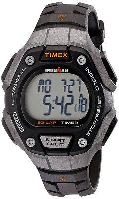 Timex Women's Ironman Classic 30 Lap Digital 100m Black Resin Watch TW5K89200