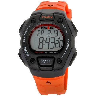 Timex Ironman Grey Dial Resin Strap Men's Watch TW5K86200