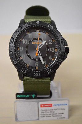 NEW Timex Men's Expedition Gallatin Watch Green/Black