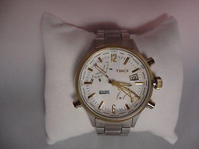 Men's Timex T2N945DH Intelligent Quartz World Time Watch