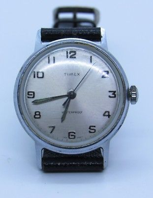 Nice Vintage Men's TIMEX MARLIN Wrist Watch