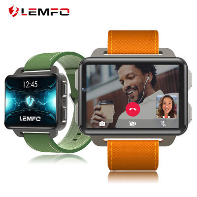 Lemfo LEM4 Pro 2018 Smart Watch Phone 3G WiFi 16GB GPS Man Watch For Android iOS
