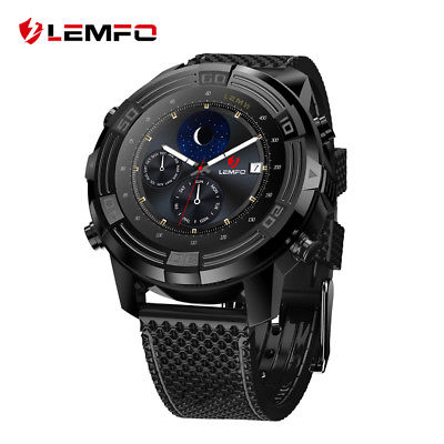 New LEMFO LEM6 IP67 Waterproof 3G SIM GPS WiFi Smart Watch Phone For Android iOS