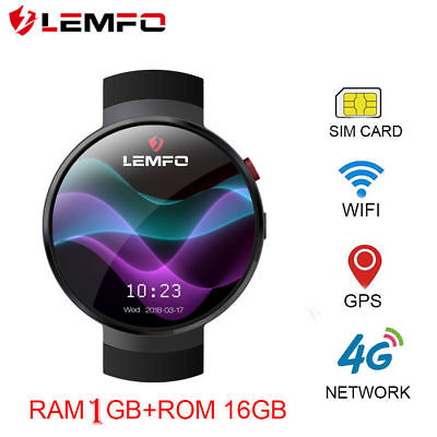 LEMFO LEM7 2018 Bluetooth Smart Watch Phone 4G 16GB Men Watch For Android iPhone