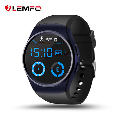 LEMFO LF18 Bluetooth Smart Watch Phone SIM Pedometer Heart Rate For Android iOS