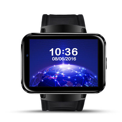 LEMFO LEM4 Bluetooth Smart Watch Phone Smartwatches For Samsung GPS WiFi 3G SIM