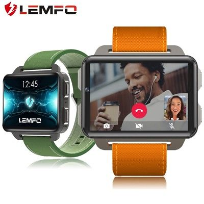 LEMFO LEM4 Pro Bluetooth Smart Watch 3G GPS Heart Rate Monitor For Android iOS