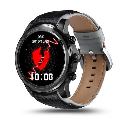Lemfo LEM5 Bluetooth Wireless 3G SIM GPS WiFi Smart Watch Phone For Android IOS