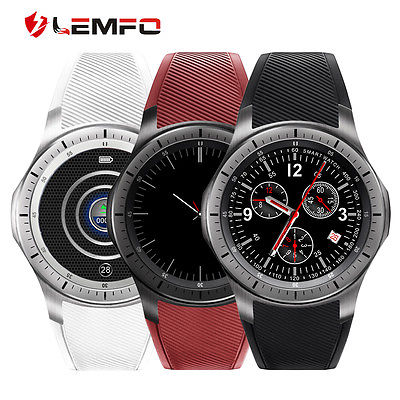 Lemfo LF16 Bluetooth Smartwatch 3G SIM Card GPS Smart Watch Phone For Android