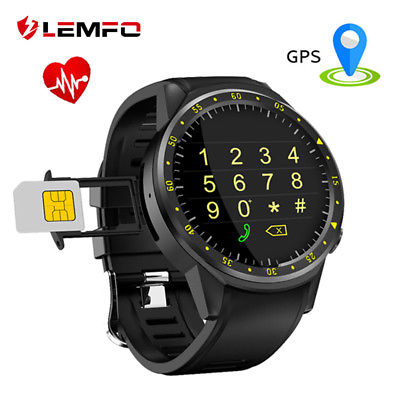 LEMFO F1 Bluetooth Smart Watch Camera 4G SIM TF Card Heart Rate  For Android IOS