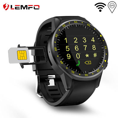 LEMFO F1 Smart Watch GPS Compass Camera Sports Watch Heart Rate For Android iOS
