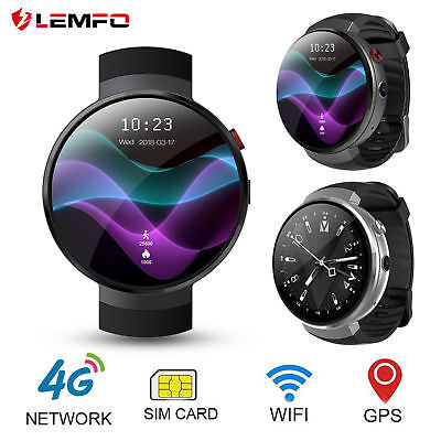 LEMFO LEM7 Pro LTE 4G OLED Smart Watch 1G 16G 2MP Camera For Android  IOS 7.0