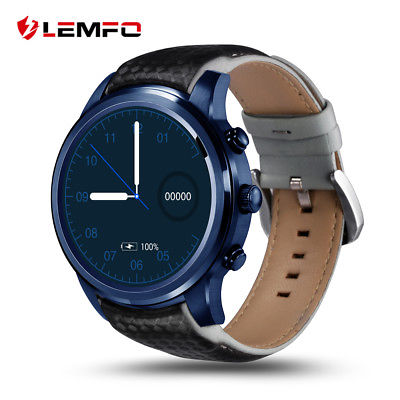 LEMFO LEM5Pro 2018 Smart Watch Phone Bluetooth 3G SIM 16GB GPS For Android IOS