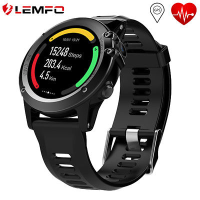 LEMFO H1 IP68 Waterproof Smart Watch Phone 3G SIM 4GB GPS WIFI For Android iOS