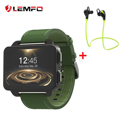 LEMFO LEM4Pro 2018 Men Smart Watch Phone 3G SIM 1/16GB GPS WIFI For Android iOS