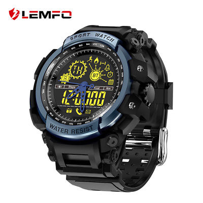 LEMFO LF21 Bluetooth Waterproof Smart Watch Pedometer For Android Samsung iOS