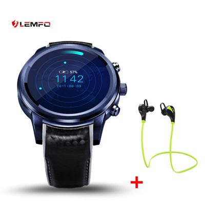 LEMFO LEM5 Pro Smart Watch Phone Android 5.1 3G SIM 2/16GB GPS For Android iOS