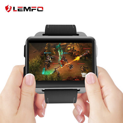 Lemfo LEM4Pro Smart Watch Phone 3G WiFi GPS Man Watch Smartphone For Android iOS