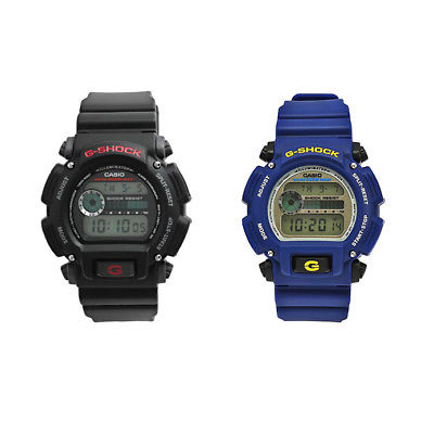 Casio Men's DW9052 G-Shock Digital Watch Blue or Black (Choice of Color)