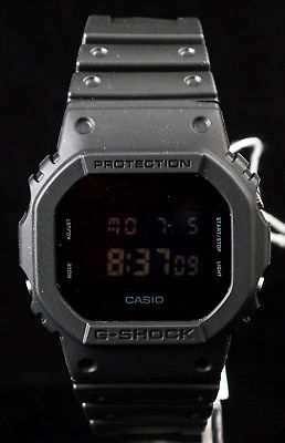 NEW WITH TAGS Casio Gshock Classic Digital DW5600BB-1 BLACK Watch