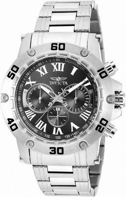 Invicta Specialty 19696 Men's Round Black Roman Numeral Chronograph Watch