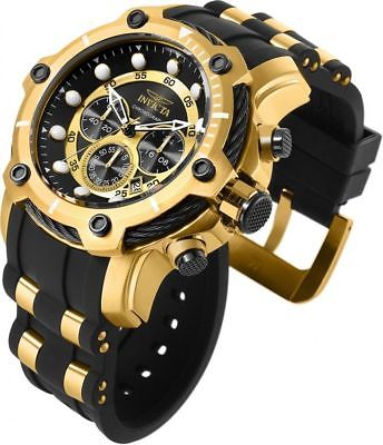 Invicta 26751 Bolt Men's Watch Stainless Steel Gold Black Chronograph