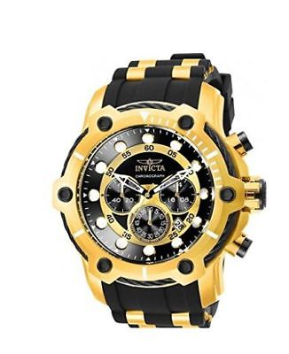 NEW Invicta Men's 26751 Bolt Quartz Chronograph Black Dial Watch