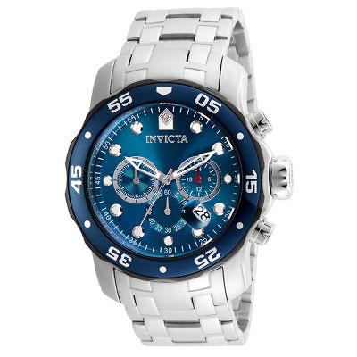 Invicta Pro Diver Mens Quartz 48mm Blue Dial-Model 21784