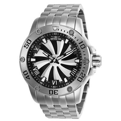 Invicta Speedway Mens Automatic 49mm Silver, Black Dial-Model 25847