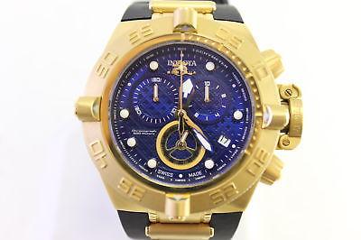 Invicta Mens Subaqua Noma Iv Quartz Chrono Watch Goldtone 16145