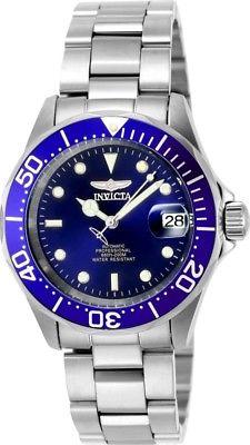 Invicta Pro Diver Mens Automatic 40mm Blue Dial-Model 9094a