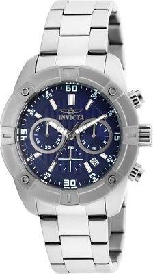 Invicta Specialty Mens Quartz 45mm Blue Dial-Model 21467