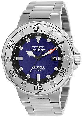 Invicta 24465 Men's Pro Diver Automatic Steel Bracelet Dive Watch