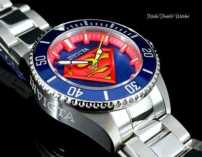38MM LADY Invicta DC Comics SUPERMAN Grand Diver LimitedEdition Automatic Watch