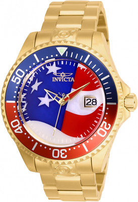 Invicta Men's Pro Diver 27963 Grand Diver 18k USA MOP Dial SS Automatic Watch