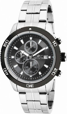 Invicta Specialty 17439 Men's Round Chronograph Date Black Analog Watch