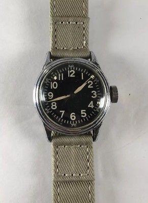 WW-2 Elgin A-11 Military Watch Working
