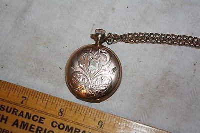Antique Elgin Pocket Watch, Hunter Case, Running