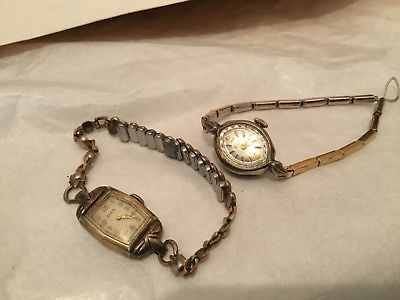 VINTAGE  ELGIN LADIES WATCHES WATCH - Two Of Them