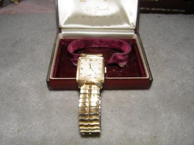 21 Jewels Lord Elgin Wrist Watch With Original Box