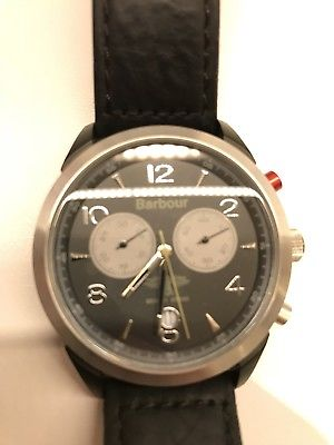 Mens Barbour Chronograph Watch